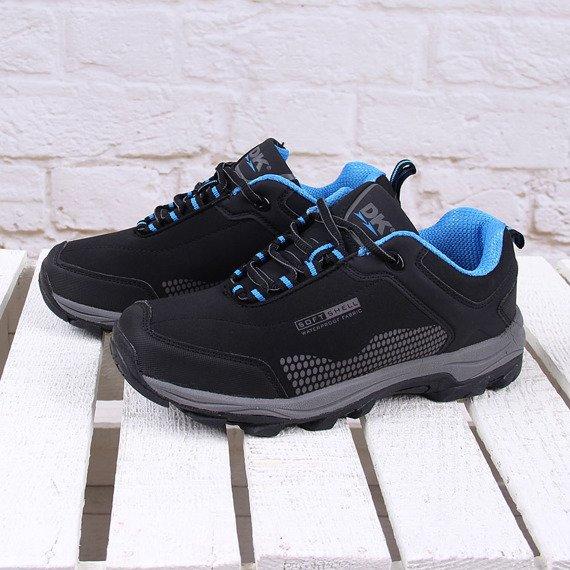 Czarne buty trekkingowe wodoodporne DK