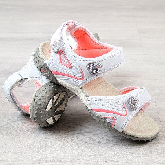 Sandały damskie sportowe białe American Club