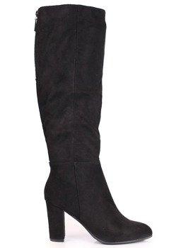 850730495192d Kozaki damskie zamszowe   tanie buty online ButyRaj.pl