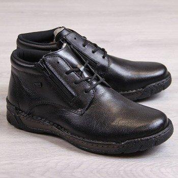 886b286190732 Buty zimowe męskie skórzane - tanie buty online | ButyRaj.pl