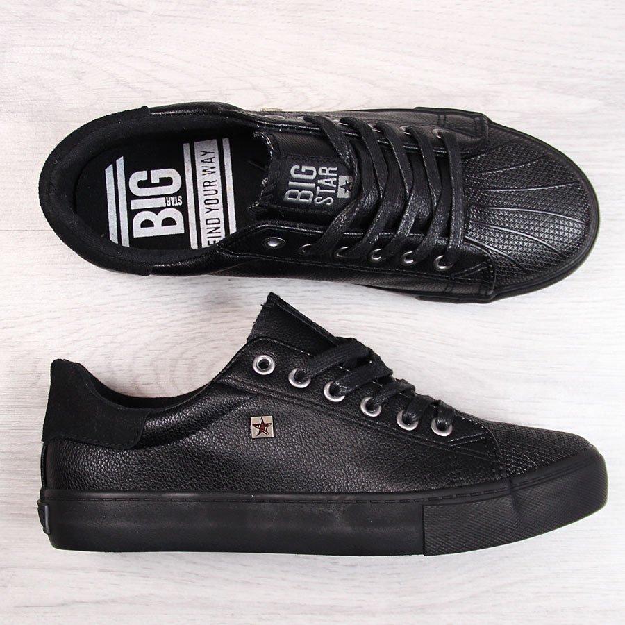 Trampki niskie czarne Big Star BB274032