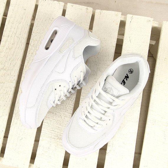 Białe buty sportowe N.E.W.S.