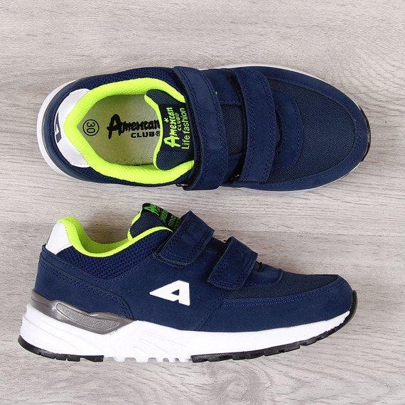 Buty sportowe chłopięce granatowe American Club