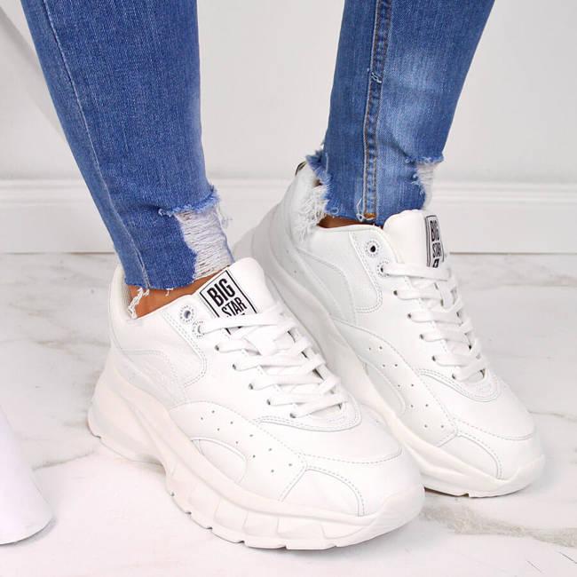 Buty sportowe damskie białe Big Star II274286