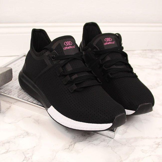 Buty sportowe damskie czarne Atletico