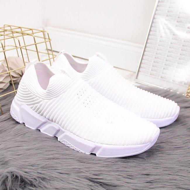 Buty sportowe damskie slip on białe Big Star DD274460