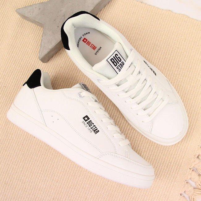 Buty sportowe eko skóra białe Big Star II2743219