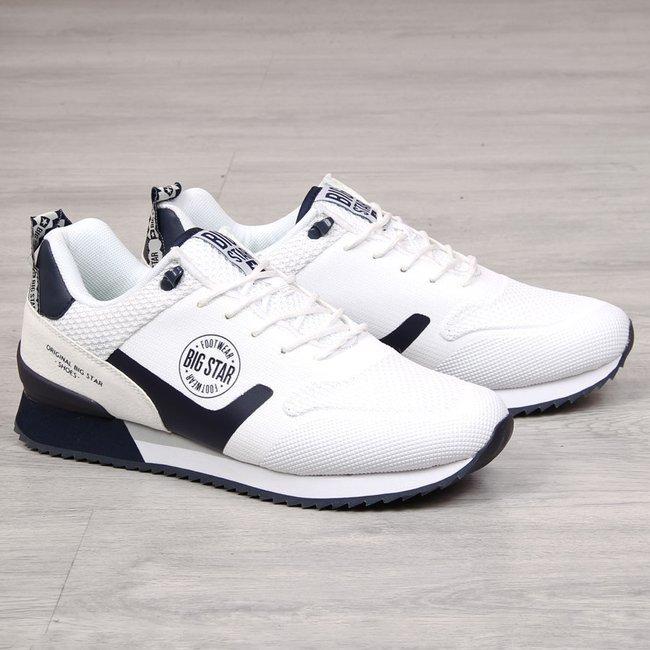 Buty sportowe męskie białe Big Star FF174204