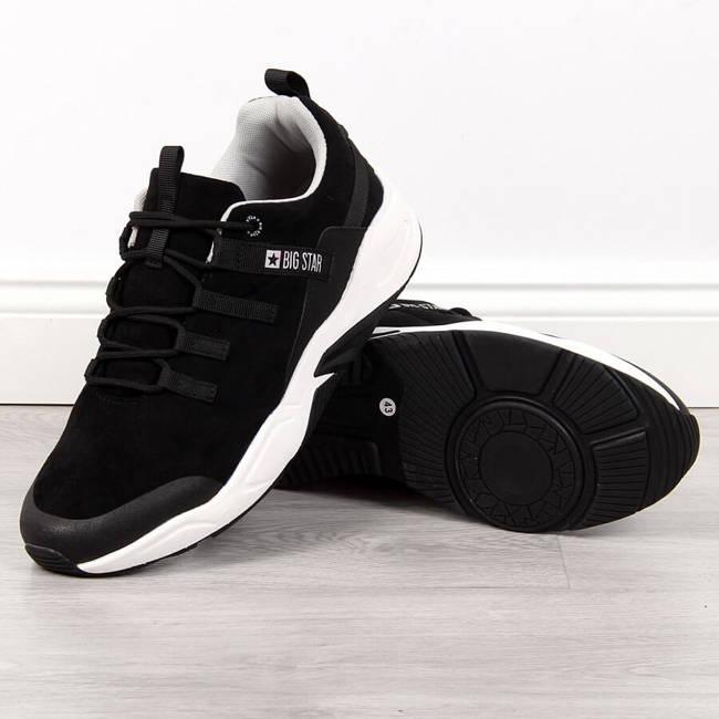 Buty sportowe męskie casual czarne Big Star II174186
