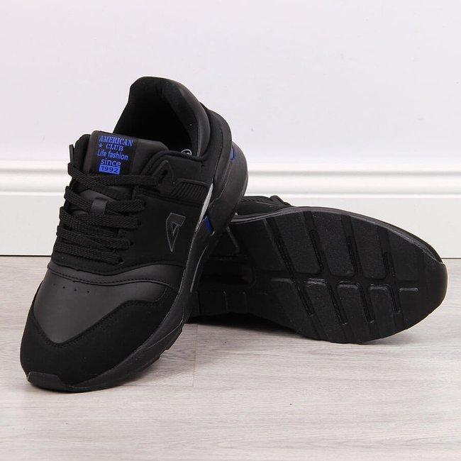 Buty sportowe męskie czarne American Club