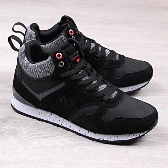 Buty sportowe męskie czarne Cross Jeans