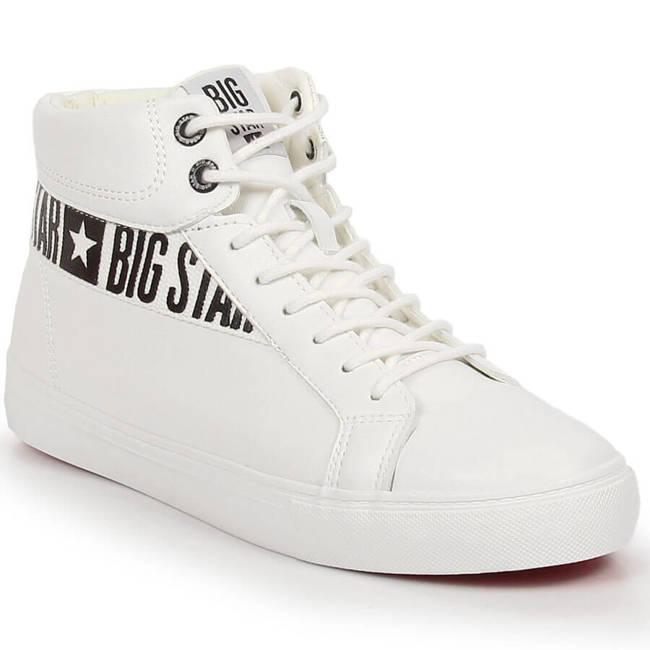 Buty sportowe męskie trampki białe Big Star EE174340