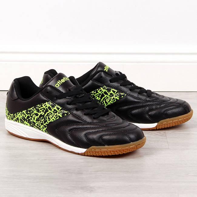 Buty sportowe młodzieżowe halówki czarne Atletico
