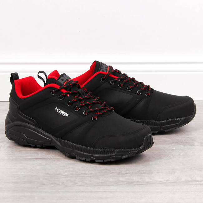 Buty sportowe trekkingowe wodooporne czarne DK