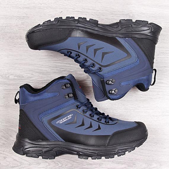 Buty trekkingowe wodoodporne granatowe McBraun