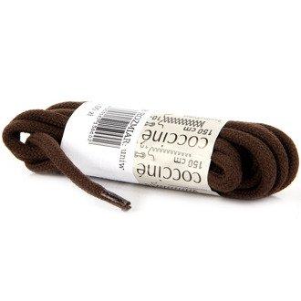 COCCINE brązowe sznurowadła bawełniane 150 cm
