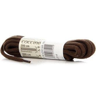 COCCINE brązowe sznurowadła bawełniane 200 cm