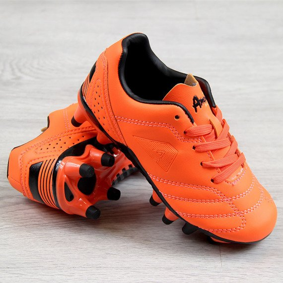 Korki piłkarskie dziecięce pomarańczowe American Club