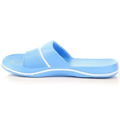 Niebieskie klapki dziecięce gumowe basenowe Hasby