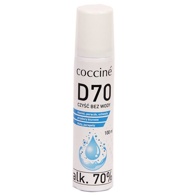 Płyn do dezynfekcji powierzchni 70% alkoholu Coccine 100 ml