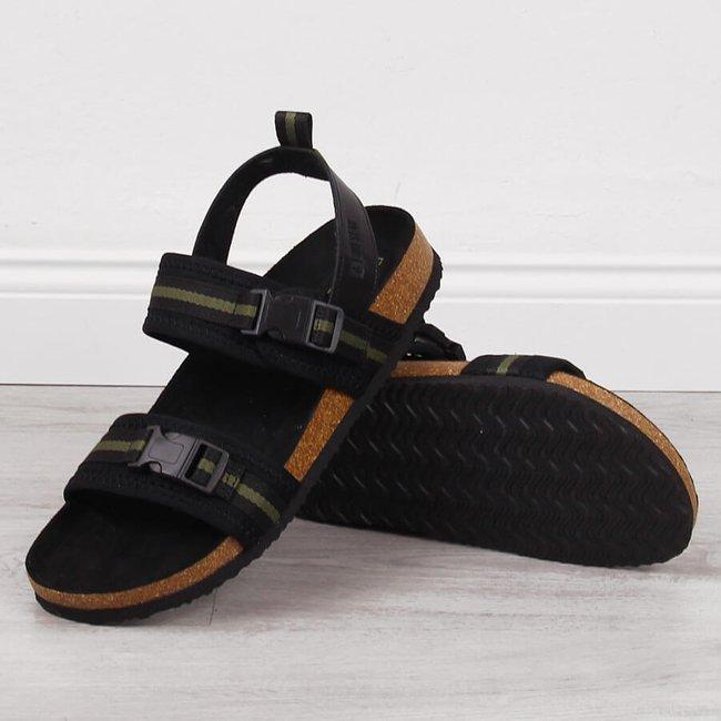 Sandały męskie czarne Big Star HH174060