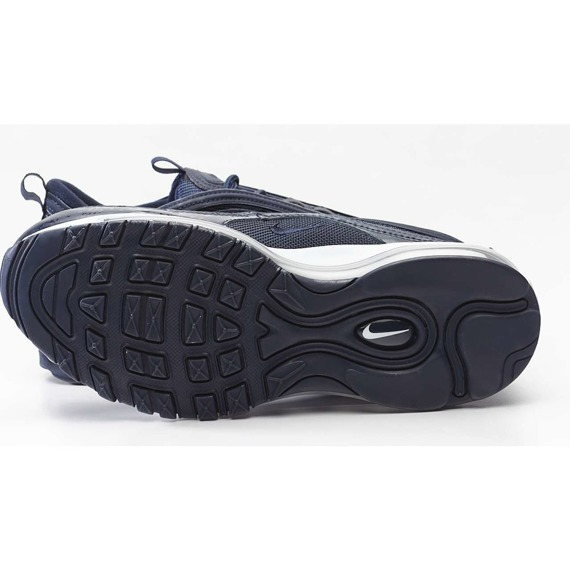Sneakersy granatowe sznurowane NIKE AIR MAX 97 GS 404
