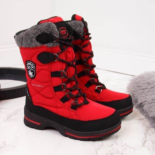 Śniegowce wodoodporne dziecięce czerwone American Club