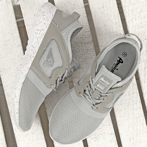 Szare buty sportowe na fitness American Club